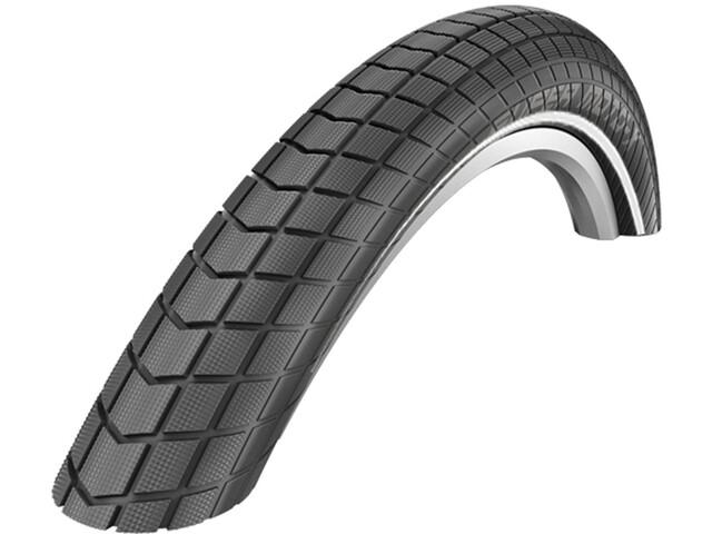 "SCHWALBE Super Moto-X Wired-on Draadband DD E-50 Dual Reflex 26x2.40"", black"